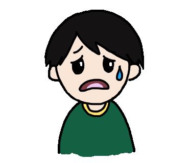 マッサンの悲しい表情